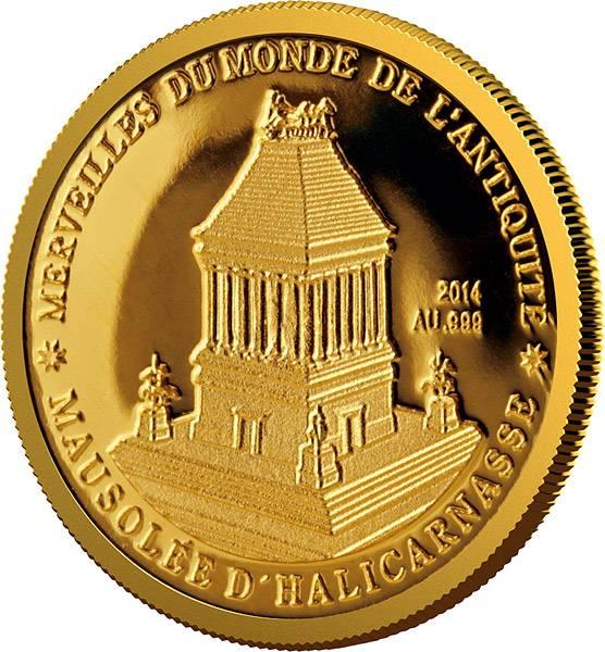 100 Francs Niger Mausoleum zu Halikarnassos 2014