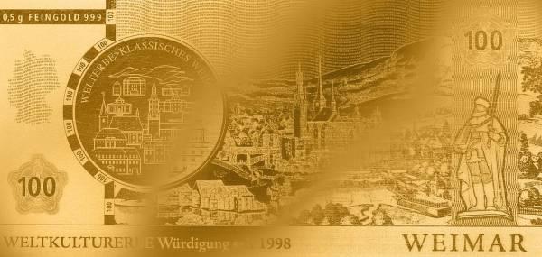 Goldnote Weimar 2006