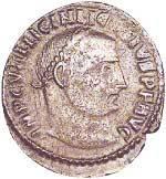 Follis Licinius 308-324 n.Chr. Schön