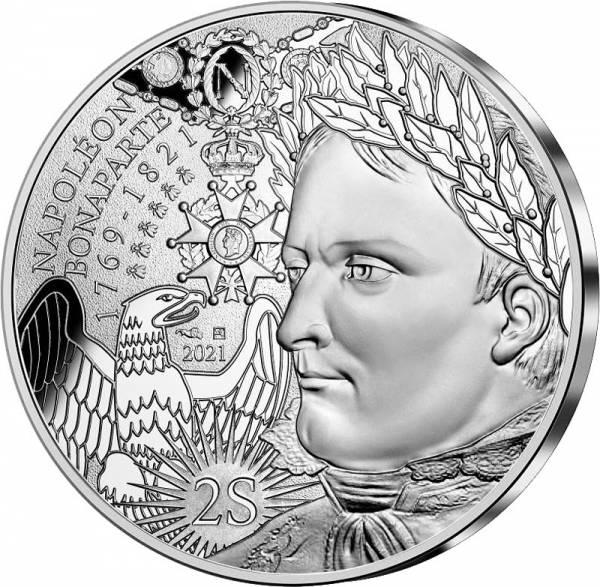 10 Euro Frankreich 200. Todestag von Napoleon 2021