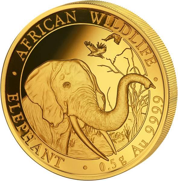 20 Shillings Somalia Elefant 2018