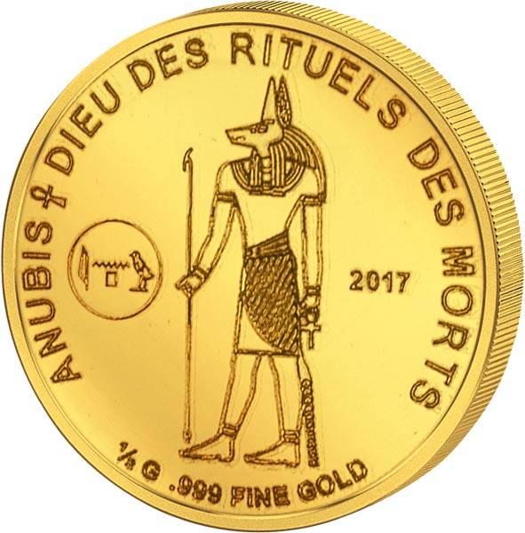 100 Francs Elfenbeinküste Anubis 2017