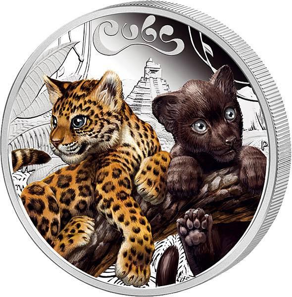 50 Cents Tuvalu Jaguarbaby