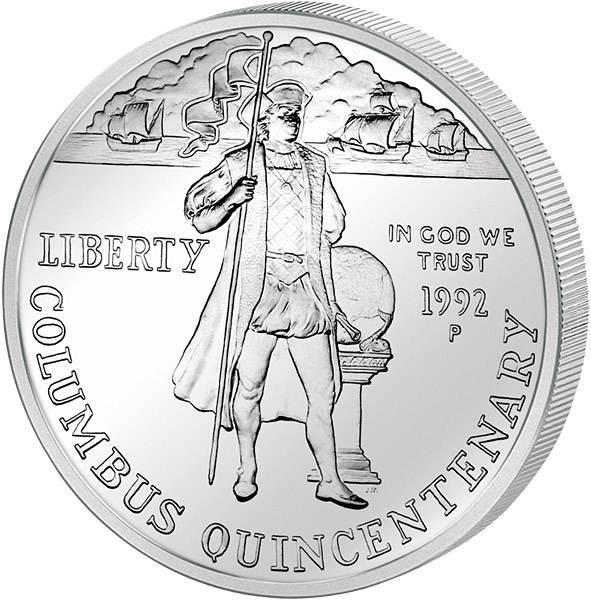 1 Dollar USA 500 Jahre Entdeckung durch Kolumbus