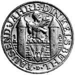 3 Mark Weimarer Republik Dinkelsbühl 1928 Vorzüglich