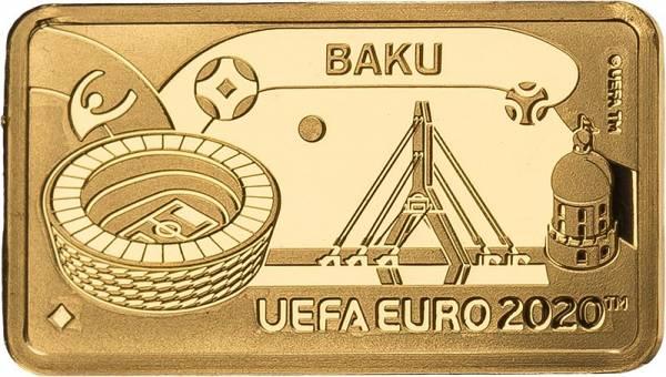 1 Pound Gibralta Fußball Europameisterschaft Baku  2020