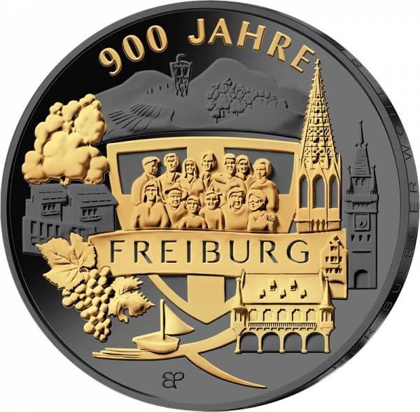 20 Euro BRD 900 Jahre Freiburg 2020 Golden Enigma Edition