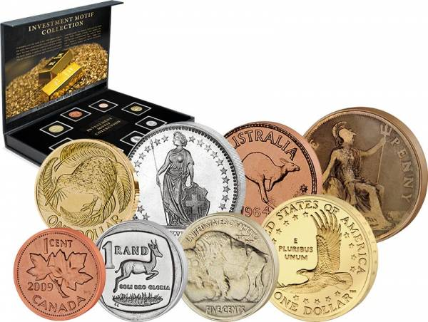 Investment Coin Motifs Collection 1911-2016