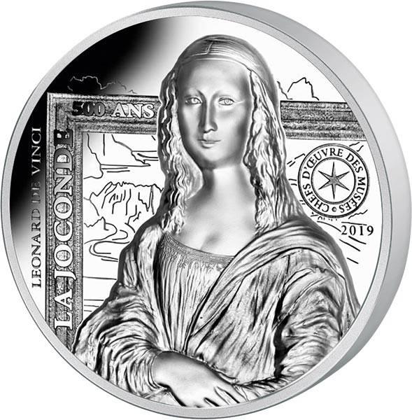 20 Euro Frankreich Mona Lisa 2019