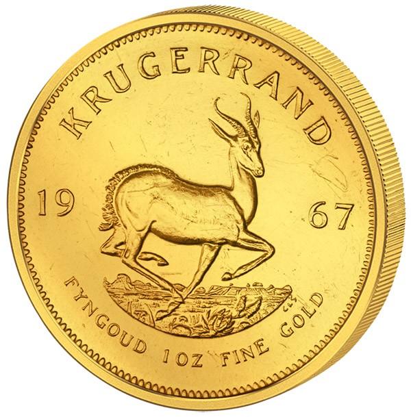 1 Unze Südafrika Krügerrand 1967 Südafrika Afrikanische Münzen
