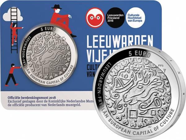 5 Euro Niederlande Leeuwarden 2018