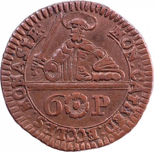 6 Pfennige Münster Domkapitel 1762