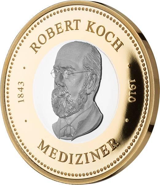 Gedenkprägung Robert Koch