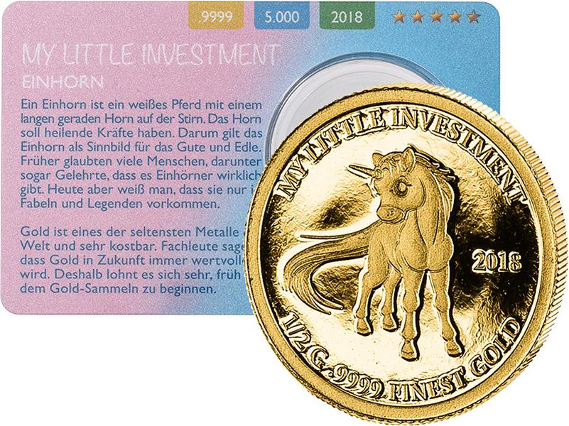 My Little Investment Exklusive Münzen Münzenversandhaus Reppa Gmbh