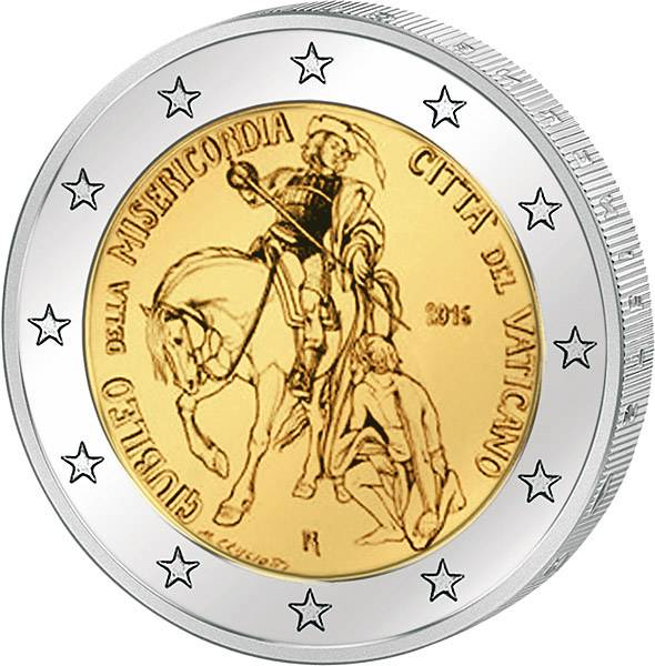 2 Euro Vatikan Heiliges Jahr