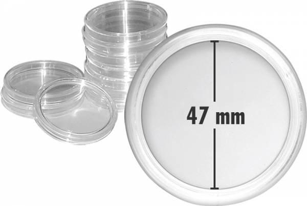 Münzkapseln Innendurchmesser 47 mm