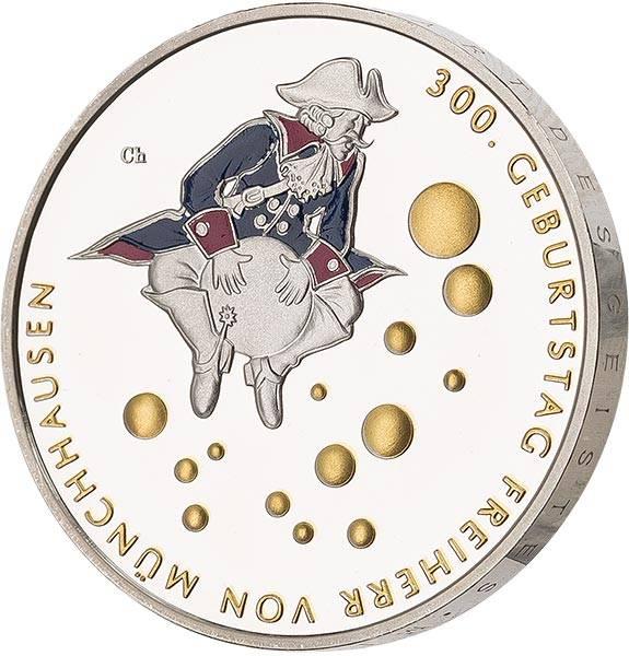 20 Euro BRD 300. Geburtstag Freiherr von Münchhausen 2020