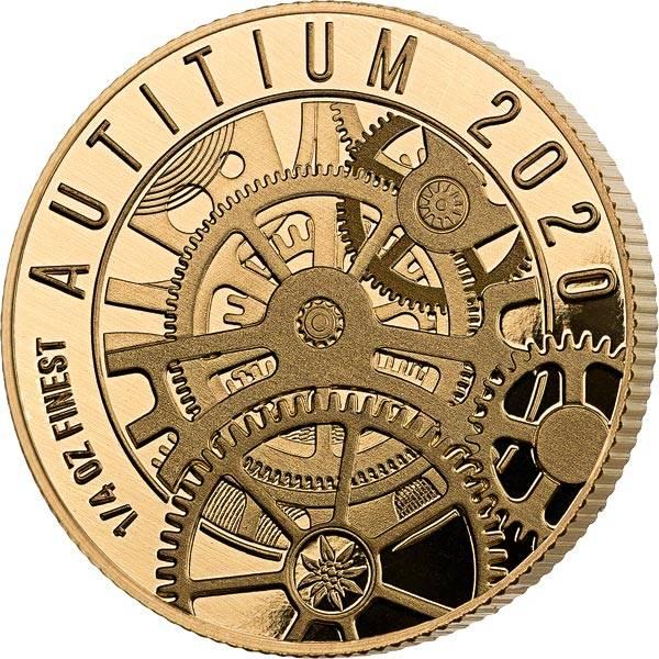 25 Dollars Salomonen Autitium Schweizer Uhrwerk 2020