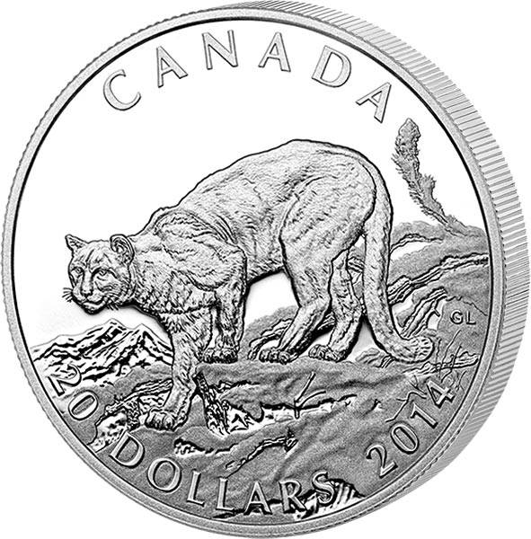 20 Dollars Kanada Puma 2014