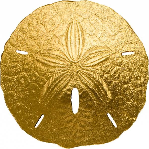 1 Dollar Palau Sand-Dollar Gold 2017