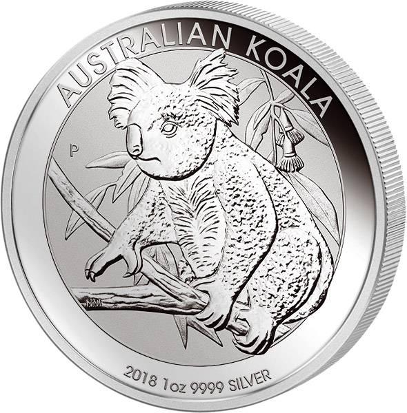1 Unze Silber Australien Koala 2018