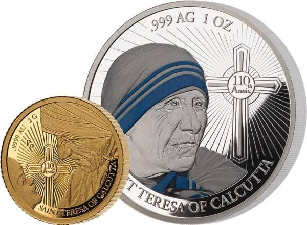 5 + 10 Dollars Salomonen In Memorium Mutter Teresa 2020