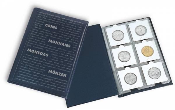 Taschenalbum mit 10 Münzblättern