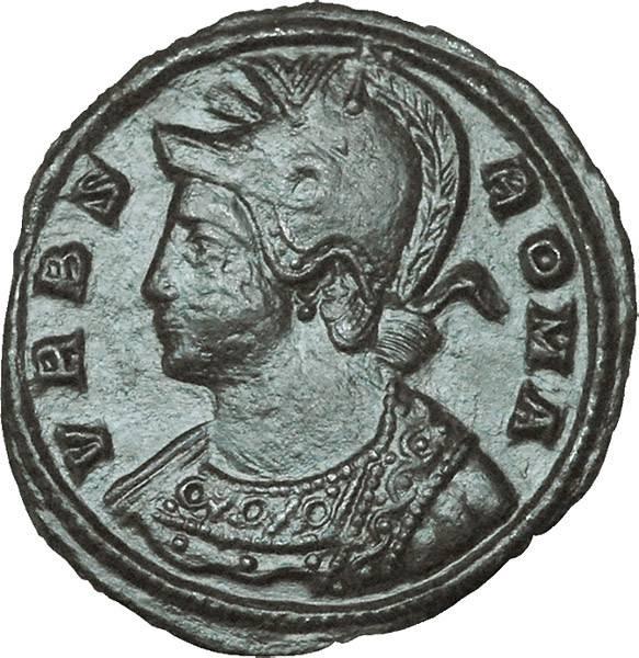 Mittelfollis Rom Kaiser Constantinus I. der Große Urbs Roma