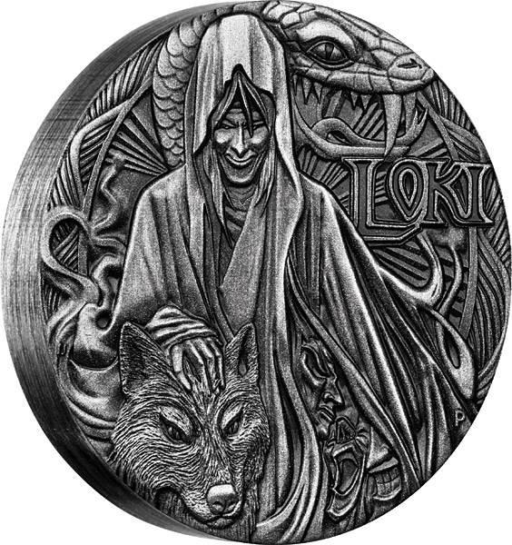 2 Dollars Tuvalu Nordische Götter Loki 2016 - FOTOMUSTER