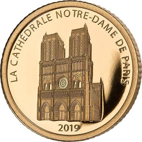 100 Francs Dschibuti Notre Dame 2019
