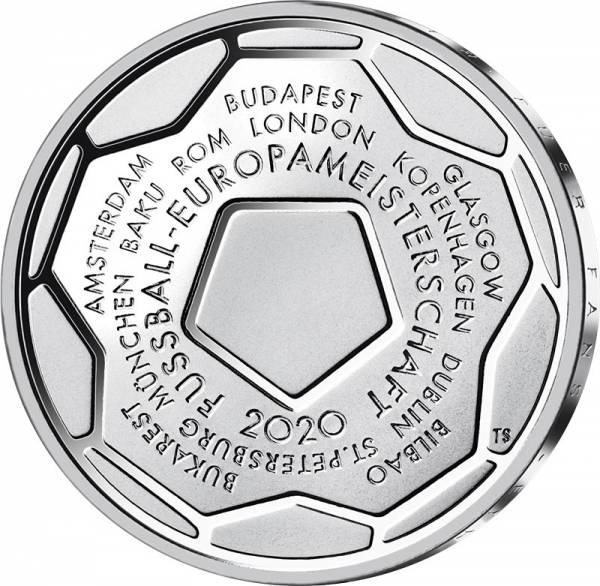 20 Euro BRD Fußball-Europameister 2020