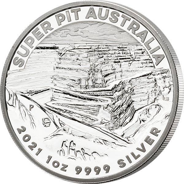 1 Unze Silber Australien Super Pit 2021