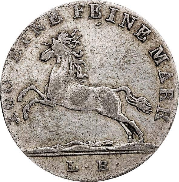 1/12 Taler Hannover König Georg IV. 1822-1824