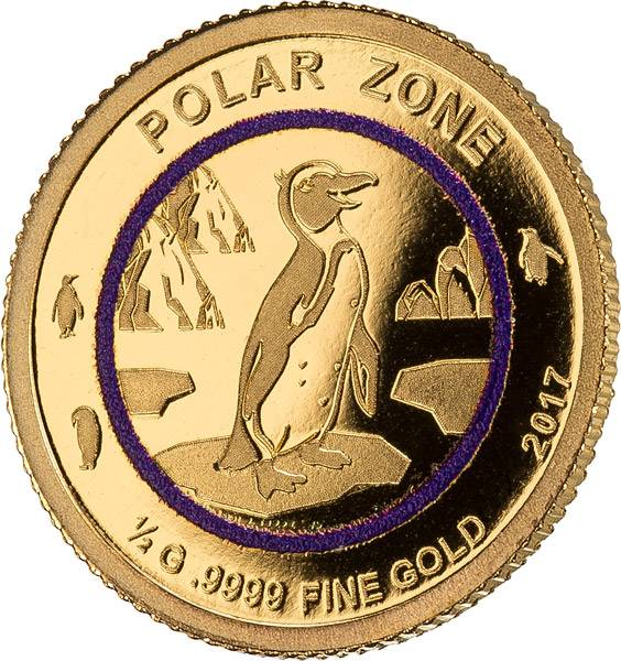 100 Francs Mali Polare Zone Pinguin 2017