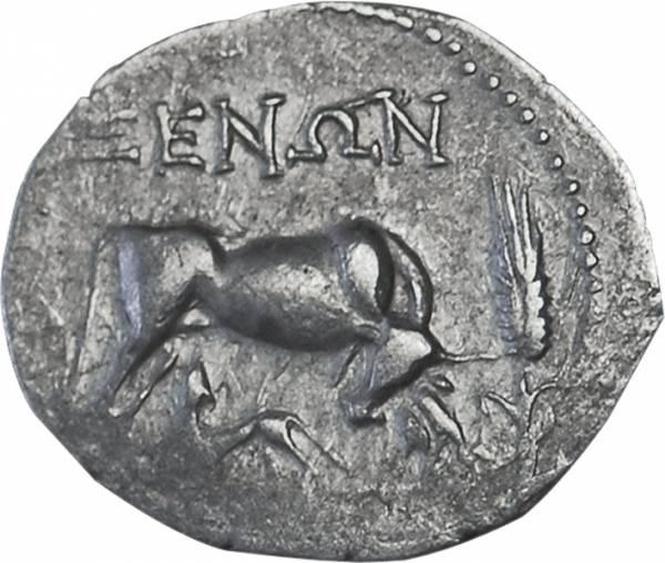 Drachme  Illyrien Dyrrhachion 229 v. Chr. sehr schön