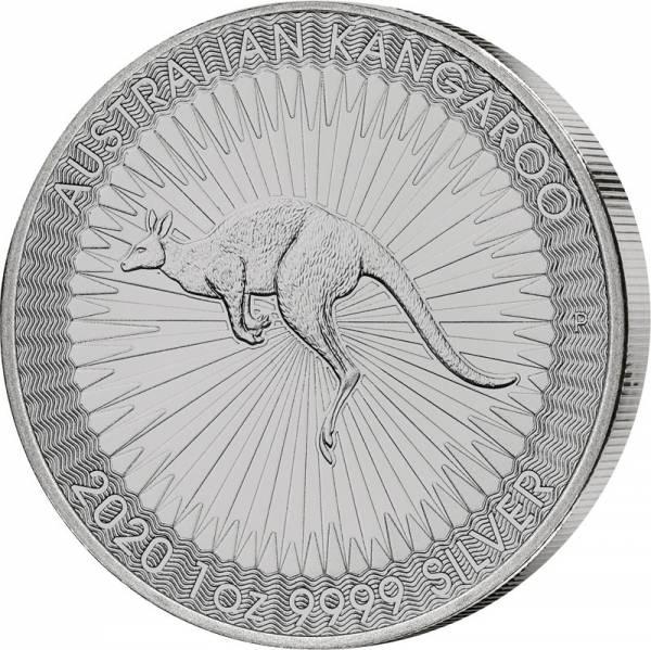 1 Unze Silber Australien Känguru 2020