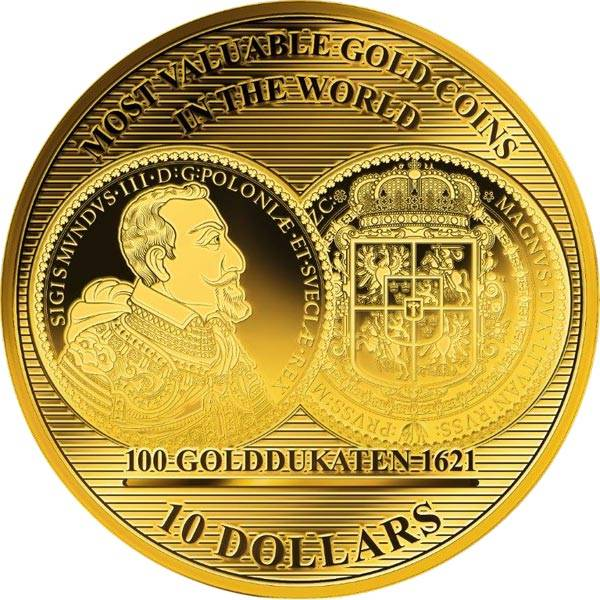 10 Dollars Salomonen Golddukaten 2017