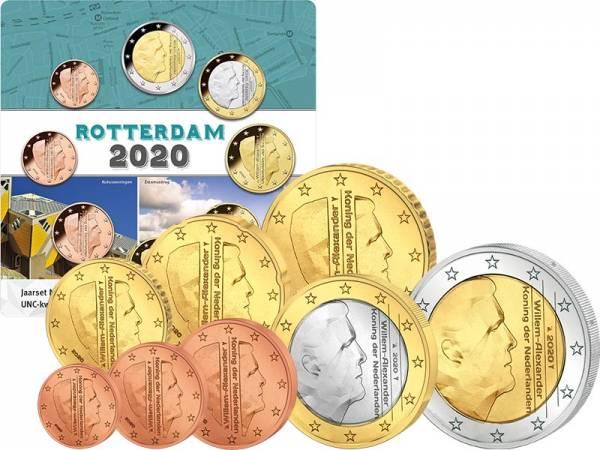 Euro-Kursmünzensatz Niederlande 2020