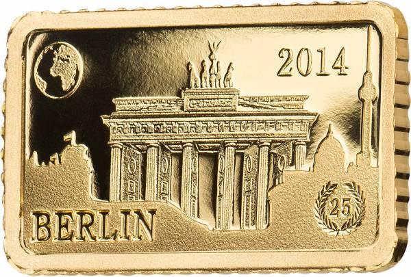 10 Dollars Salomonen Berlin Brandenburger Tor 2014