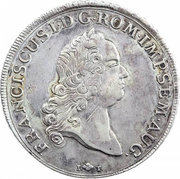 Konventionstaler Augsburg Kaiser Franz I 1765