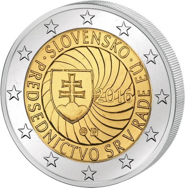 2 Euro Slowakei  EU-Ratspräsidentschaft 2016