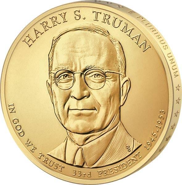 1 Dollar USA Harry S. Truman 2015