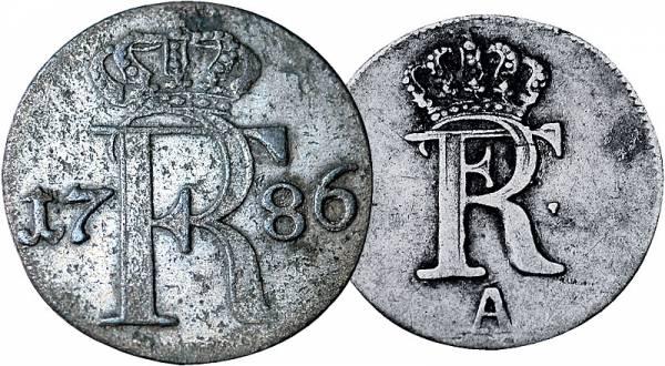 1/48 u. 1/24 Taler Brandenburg-Preußen König Friedrich II. der Große 1740-1789 Preußen, Königreich