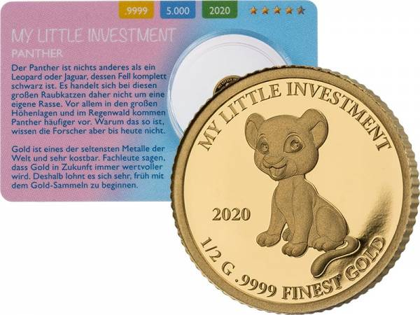 10 Dollars Salomonen My little Investment Panther 2020