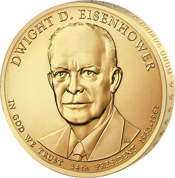 1 Dollar USA Dwight D. Eisenhower 2015 Stempelglanz
