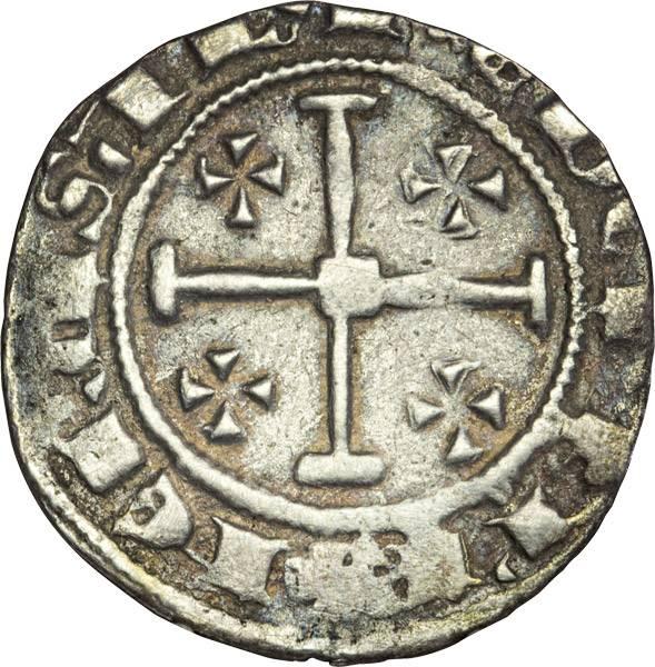 Groschen Kreuzfahrerstaat Zypern verschiedene Könige