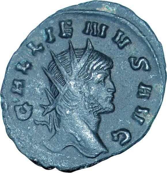 Antoninian Rom Kaiser Gallienus 253-268 n.Chr. Sehr schön
