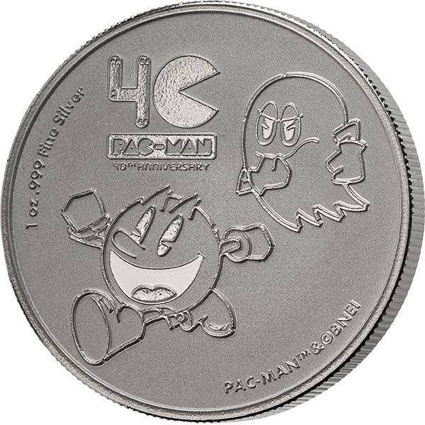 1 Unze Silber Niue Pac-Man 2020