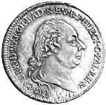 Taler Konventionstaler Kurfürst Carl Friedrich 1803  vorzüglich