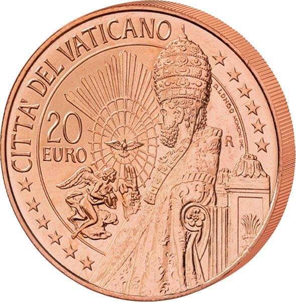 20 Euro Vatikan Der heilige Petrus 2021
